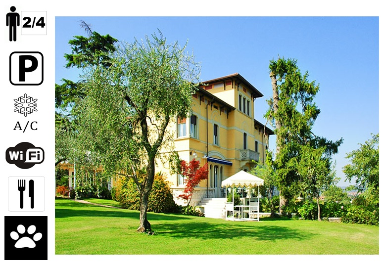 Charmantes Hotel am Gardasee in Italien